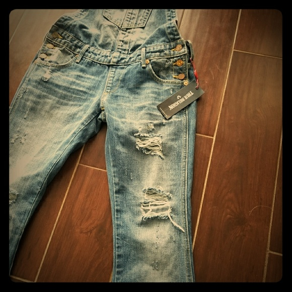 812fe4a1a0f True Religion Jeans | New With Tags Karlie Overalls 25 | Poshmark